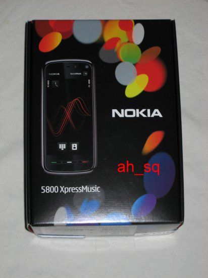 Brand New In Box Red Nokia XpressMusic 5800 Unlocked World Quad Band