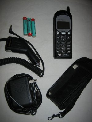 Excellent Condition Motorola TalkAbout GSM Network Backup Phone