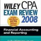 Wiley CPA Exam Review 2008 Financial Accounting And Reporting (Paperback, 2007)