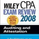 Wiley CPA Exam Review 2008 Auditing And Attestation (Paperback, 2007)