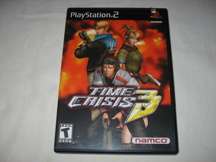 Time Crisis 3: Namco Hometek,Inc. (Playstation 2, 2003)