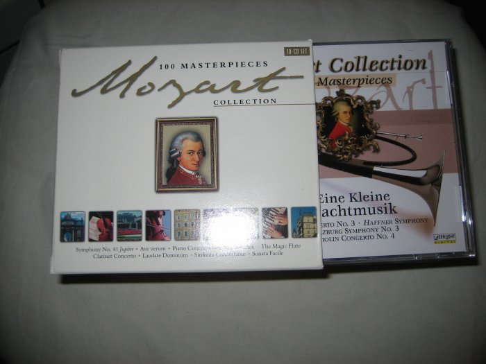 Mozart Collection: 100 Masterpieces (Box Set) 10 CDs Classical Music