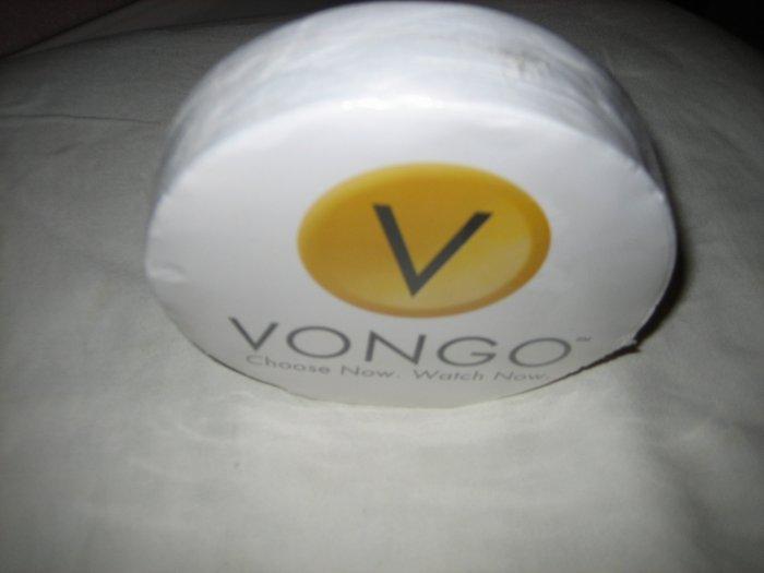 Brand New Vongo Big Round Circle pressed T-shirt