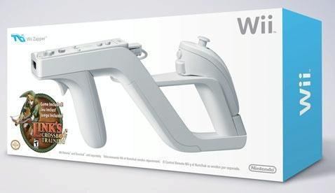 Brand New Official Wii Zapper with Link's Crossbow Training by Nintendo (Nov 2007)