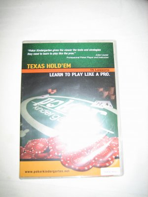 Brand New Texas Hold'em 15 Lessons - Learn to Play Like a Pro Poker Kindergarten