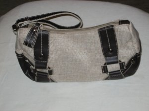 Brand Target New Ladies Pouch Bag Black and Brown
