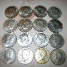JFK Kennedy Half Dollar USA 40% Silver Clad 1966 1967 1968D 1969D Circulated