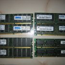 PC133U 2x128MB RAM 256MB Memory excellent condition