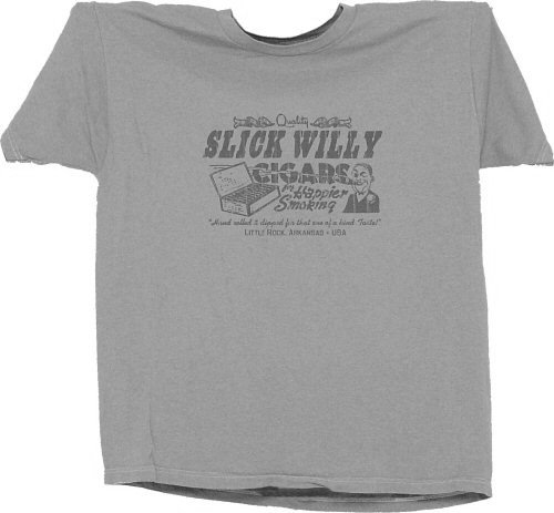 VINTAGE RETRO STYLE SLICK WILLY CIGARS T-SHIRT TEE XLG XL $12