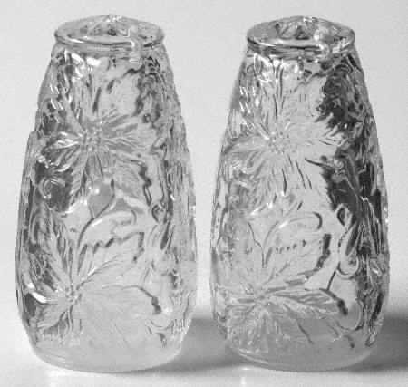 RARE - All Crystal - Princess House Salt & Pepper Shakers