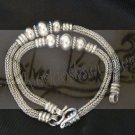 B05Antique style double bracelet