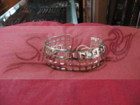 B035 All square carve bracelet