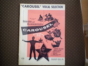 CAROUSEL VOCAL SELECTION SONGBOOK WILLIAMSON MUSIC