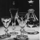 1966 Vintage BACCARAT CRYSTAL DEPUIS 1764 French Ad