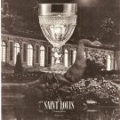 1966 SAINT LOUIS CRYSTAL AD TRIANON GOBLET French cup