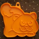 VINTAGE HALLMARK COOKIE CUTTER CAT HALLOWEEN