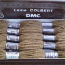 LOT 10 SKEINS DMC TAPESTRY WOOL YARN  LAINE COLBERT DOLLFUS MIEG 7499