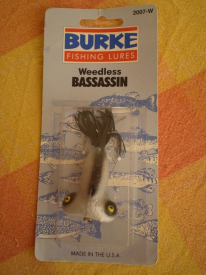 BURKE FISHING LURE WEEDLESS BASSASSIN 2007-W FLEX PLUG