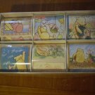 VINTAGE WALT DISNEY WINNIE THE POOH STICKERS by MICHEL  & CO