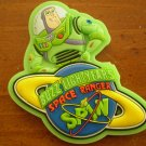 BUZZ LIGHTYEAR'S SPACE RANGER SPIN DISNEY WORLD MAGNET GLOW IN THE DARK