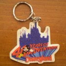 40 Years of Adventure Disneyland Key Chain Mickey Disney