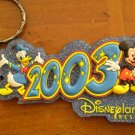 DISNEYLAND RESORT 2003 KEYCHAIN DISNEY key chain