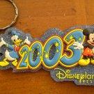 DISNEYLAND RESORT 2003 KEYCHAIN DISNEY key chain