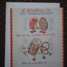 VINTAGE CARD AMERICAN GREETINGS ANNIVERSARY