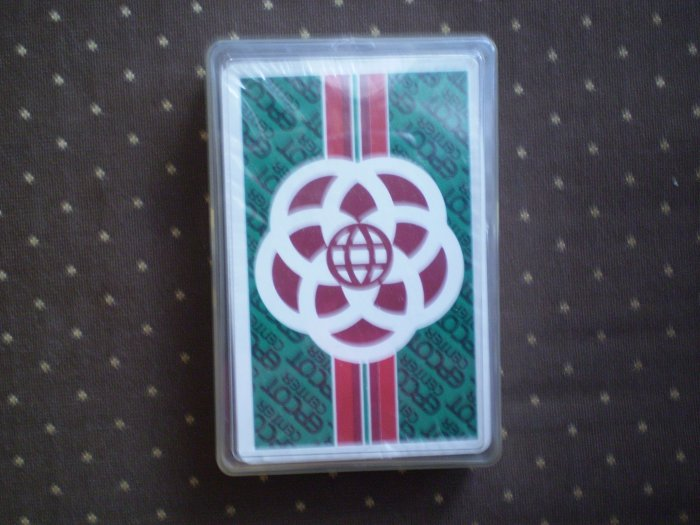 VINTAGE PLAYING CARDS EPCOT CENTER DISNEY