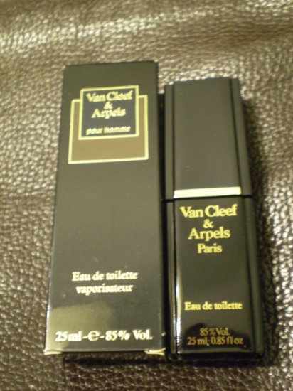 VAN CLEEF & ARPELS EAU DE TOILETTE 25ml in BOX EDT