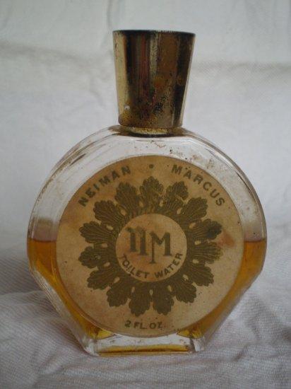 Vintage Neiman Marcus Toilet Water 2 fl oz edt perfume bottle