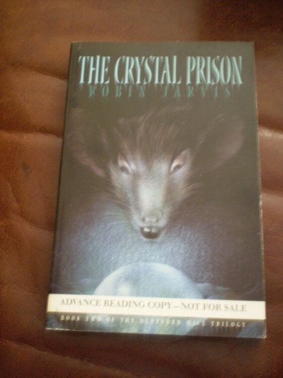 The Crystal Prison Robin Jarvis Advance Reading Copy 2001 Seastar