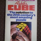 Mastering Rubik's Cube Don Taylor 1980 paperback