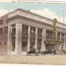 New Metropolitan Theater Hermosa Beach CA Postcard Vintage Theater