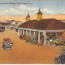 New French Market, New Orleans, LA postcard vintage