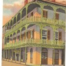 Lace Work in Iron, New Orleans, LA postcard vintage