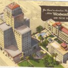 Hotel Westward Ho Phoenix Arizona postcard  vintage