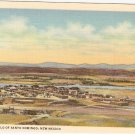 Pueblo of Santo Domingo New Mexico postcard vintage