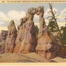 My Valentine Wondrous Pinnacls Bryce Canyon Utah postcard vintage