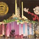 Tower of Light New York World's Fair 1964-65 Reddy Kilowatt postcard