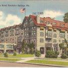 Elms Hotel Excelsior Springs, Missouri vintage postcard