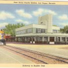 New Union Pacific Station Las Vegas Nevada vintage postcard