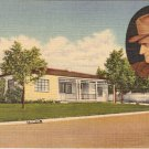 Ernie Pyle Home Albuquerque New Mexico vintage postcard
