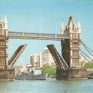 Tower Bridge London 70's postcard