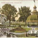 Bethesda Mineral Spring Waukesha Wisconsin vintage postcard