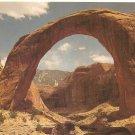 Rainbow Bridge National Monument Utah vintage postcard
