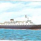 Stella Maris II 2 Greek Sun Line Sunline postcard
