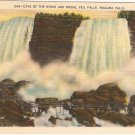 Cave of the Winds Bridal Veil Niagara Falls Vintage Postcard
