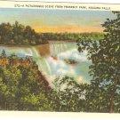 Picturesque Scene Prospect Park Niagara Falls Vintage Postcard