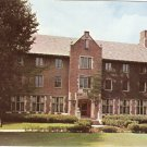 Lucina Hall Ball State Teachers College Muncie Indiana vintage postcard